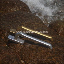 Aluminum Side Hung, Slide-fold Door Handle